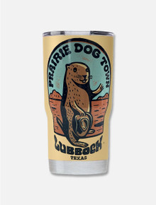"World Famous Prairie Dog Town® ""Howdy Dog"" Travel Tumbler"