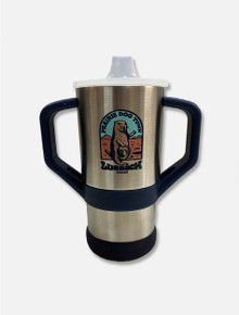 "World Famous Prairie Dog Town® ""Howdy Dog"" Double Walled 8 oz Sippy Cup"