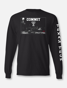 "Texas Tech Red Raiders Basketball ""Street Dogs"" Long Sleeve T-shirt"