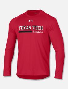 Texas Tech Red Raiders Under Armour Long Sleeve 2018 Baseball Sideline
