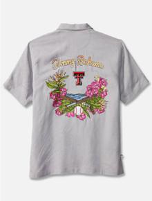 "Tommy Bahama ""Baseball Bay"" Solid Silk Button Down"