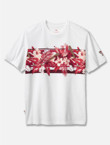 "Tommy Bahama ""Sport Home Run"" Hibiscus Tee"
