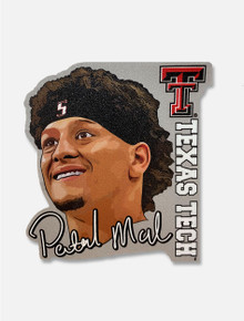 Wincraft Texas Tech Patrick Mahomes Perfect Cut Decal