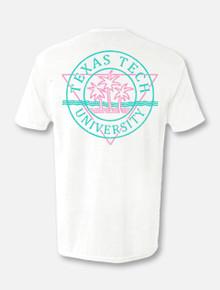 """Texas Tech Red Raiders """"Malibu"""" Pocketed T-shirt Back"""