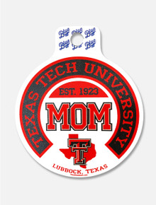"""Texas Tech Red Raiders """"Begetter State MOM"""" Decal"""