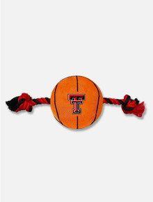 Texas Tech Red Raiders Basketball Rope Pet Toy