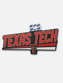"""Texas Tech Red Raiders """"Benthos"""" Decal"""