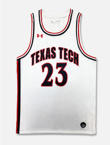 "Texas Tech Under Armour ""Retro"" Basketball Jersey"