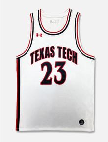 """Texas Tech Under Armour """"Retro"""" Basketball Jersey"""