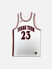 "Texas Tech Under Armour Youth ""Retro"" Basketball Jersey"