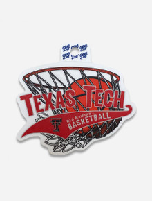 "Texas Tech Red Raiders ""Centrist Basketball"" Decal"