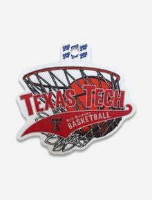 "Texas Tech Red Raiders ""Centrist Basketball"" Decal"
