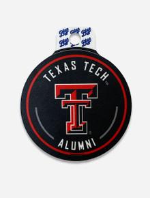 "Texas Tech Red Raiders Alumni ""Courtesy Call"" Decal"