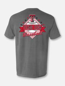 "Texas Tech Red Raiders Baseball ""Past Time"" T-shirt Back"