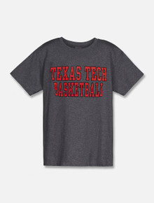 Texas Tech Red Raiders Basketball Stack YOUTH T-Shirt