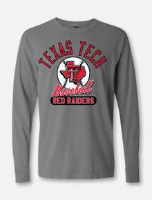 "Texas Tech Red Raiders Baseball ""Crank it"" Long Sleeve T-Shirt"