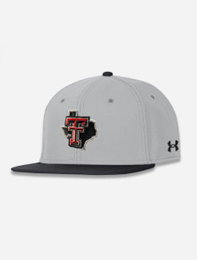 "Texas Tech Red Raiders Under Armour ""3 Bagger"" Flat Bill"