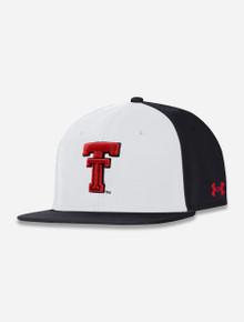"Texas Tech Red Raiders Under Armour ""Backward K"" Flat Bill"