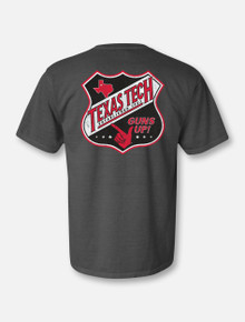 "Texas Tech Red Raiders ""Route 66"" Short Sleeve T-shirt Back"
