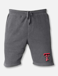 "Texas Tech Red Raiders Double T ""Mineral Wash"" Sweat Shorts"