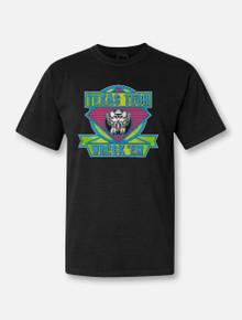 "Texas Tech Red Raiders ""Kool 90's Neon Puff"" Short Sleeve T-shirt"