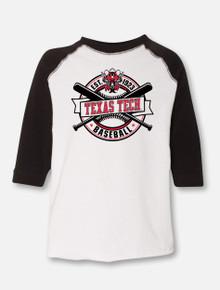 "Texas Tech Red Raiders Baseball ""Right Off the Bat"" TODDLER Raglan"