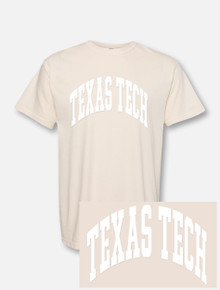 "Texas Tech Red Raiders ""Gnarly Iced Out Arch"" Puff Print T-shirt"