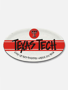 Texas Tech Red Raiders Melamine Oval Serving Tray