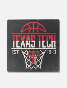 "Texas Tech ""Boom Shaka Laka"" Basketball Coaster"
