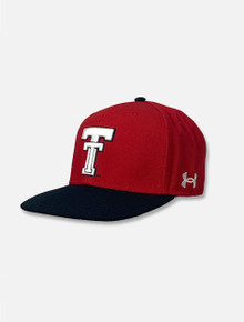 "Texas Tech Red Raiders Under Armour ""The Closer"" Flat Bill"