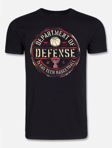"Texas Tech Red Raiders Basketball Dept Of Defense ""Official Seal"" T-shirt"