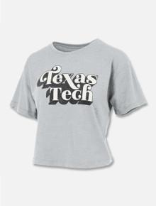 "Press Box Texas Tech Red Raiders ""Take It Easy"" Crop Top"
