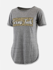 "Pressbox Texas Tech Red Raiders ""Leopard Square"" T-Shirt"