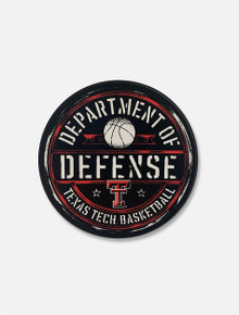 "Texas Tech Red Raiders Basketball Dept Of Defense ""Official Seal"" Decal"