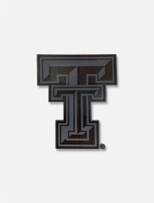 Texas Tech Red Raiders Black Out Double T Decal