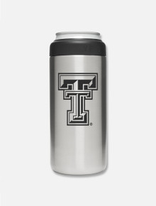 Texas Tech Red Raiders Double T 12 oz Slim Can Insulator