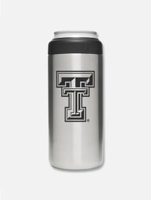 Texas Tech Red Raiders Double T 12 oz Slim Can Insulator