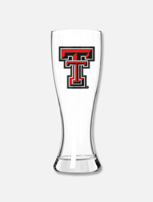 Texas Tech Red Raiders Pilsner with Metal Double T Emblem