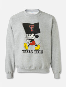"Disney x Red Raider Outfitter ""Flag Waver Mickey"" Pullover Sweatshirt"