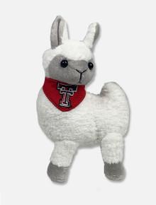 "Texas Tech Red Raiders Llama ""Llama Mia"" with Red Bandana Plush Toy"