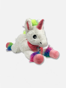 "Texas Tech Red Raiders ""Rainbow Unicorn"" with Bandana Plush Toy"