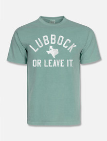 """Texas Tech Red Raiders """"Vintage Lubbock or Leave It"""" Short Sleeve T-Shirt"""