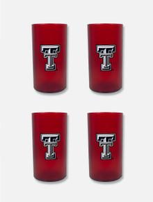 "Texas Tech Red Raiders Plastic ""20oz. 4 Pack Tumbler Set"""