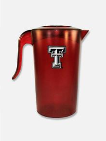 "Texas Tech Red Raiders Plastic ""2.5 qt Pitcher"""