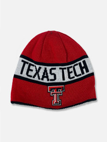 Texas Tech Red Raiders Reversible Red to Black Beanie