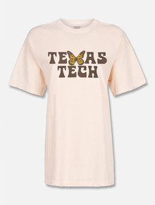 "Texas Tech Red Raiders ""Butterfly Kisses"" Puff Print T-shirt"