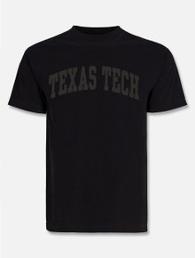 "Texas Tech Red Raiders ""Tonal"" Puff Print Arch T-shirt"