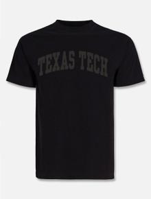 """Texas Tech Red Raiders """"Tonal"""" Puff Print Arch T-shirt"""