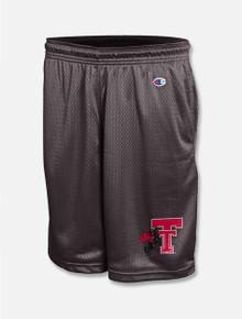 "Champion Texas Tech Red Raiders Throwback ""Defender"" Classic Mesh Short"