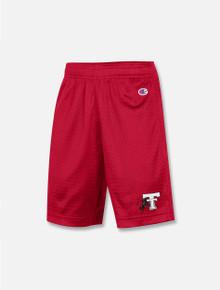 "Champion Texas Tech Red Raiders Youth ""Athlete"" Classic Mesh Shorts"